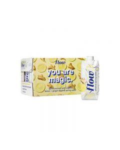 Flow Alkaline Spring Water Lemon & Ginger 12x500ml