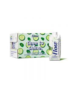 Flow Alkaline Spring Water Cucumber & Mint 12x500ml