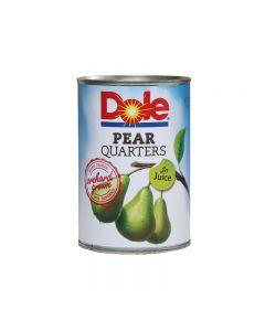 Dole Pear Quarters In Juice 210g