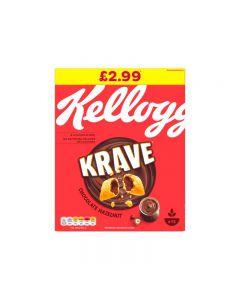 Kelloggs Krave Choc Nut PM 375g