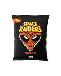 Space Raiders Spicy 25g